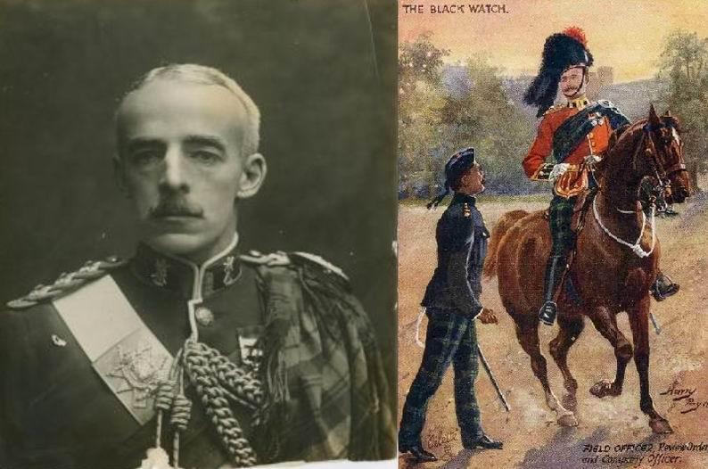 Подполковник Э. Грант-Дафф и Черная Стража.