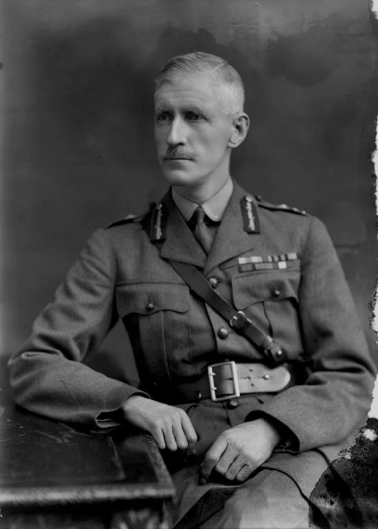 Сэр Эдвард Питер Стриклэнд, январь 1917г.