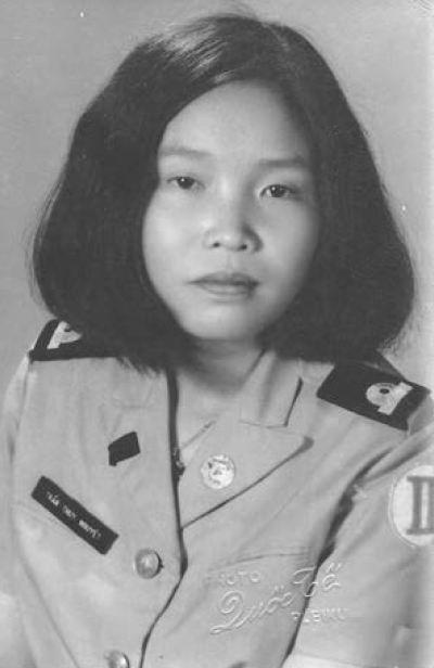 Младший лейтенант Тхюи, Плейку, 1973г.