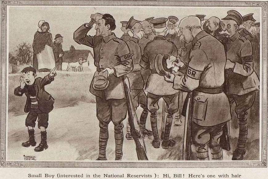 Карикатура 1915г.