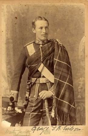 Джордж Тайри Брэнд Уилсон (1867-1953) в молодости.