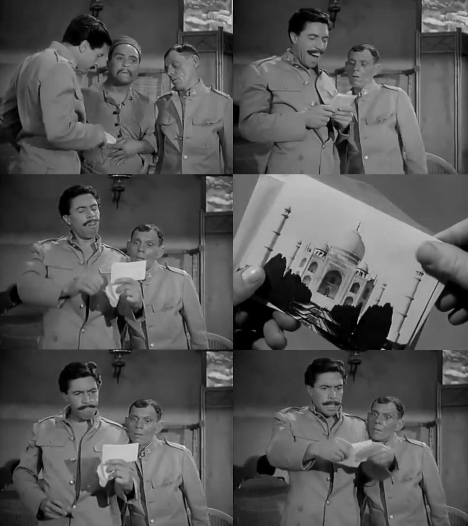 Казарменный юмор. Классический обман — хитрый индус продает открытки с прекрасными девушками из самого Парижу. Ловкость рук и солдаты обнаруживают, что купили совсем не то, что им показывали сначала.
