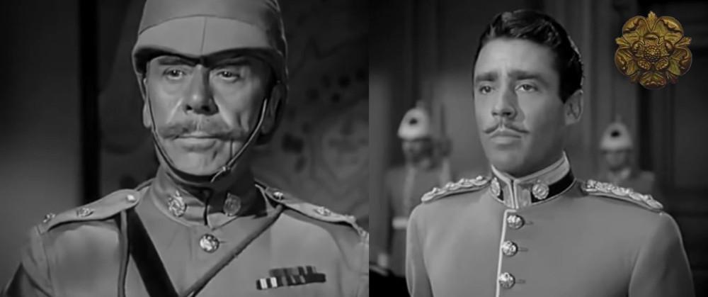 В фильме неправильно показано звание капитана. Три звезды будут введены лишь с 1902г. Ошибка продолжится и на других персонажах — у лейтенанта-стрелка в конце фильма 2 звезды.