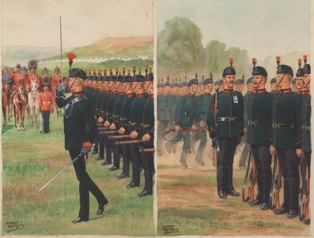 Короля Королевский Стрелковый корпус.