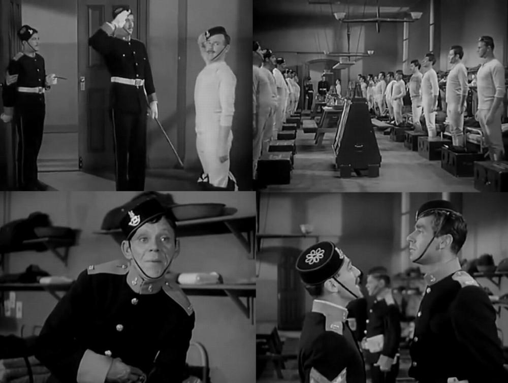 Королевские стрелки Южного побережья. Дисциплина по-британски, капрал не успел натянуть брюки, как пришлось бросить их и встречать офицера.