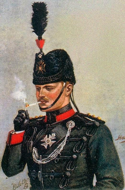 Капитан Короля Королевского Стрелкового корпуса, 1902г.