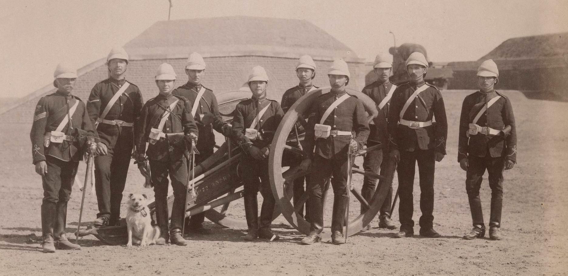 Королевская артиллерия, Египет, 1882г.