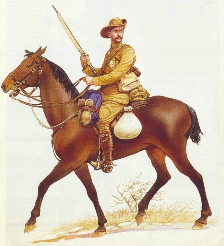 Майор Г.Ш. Далбиак в бою при Сенекале, май 1900г.