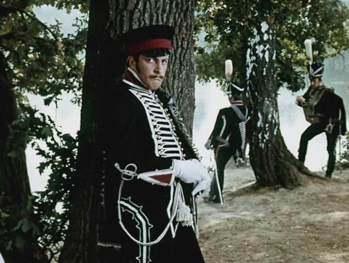 """Кадр из фильма """"Выстрел"""" (1966)."""