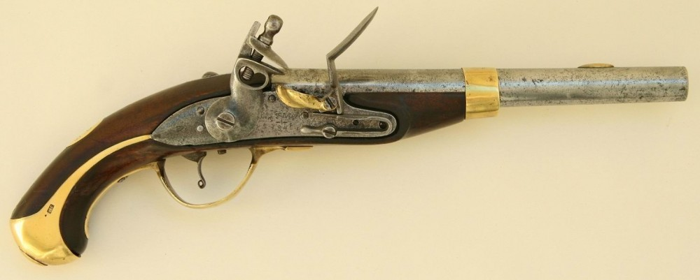 Кавалерийский пистолет нижних чинов обр.1839г.
