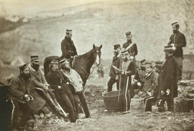 8й гусарский полк, 1855г.