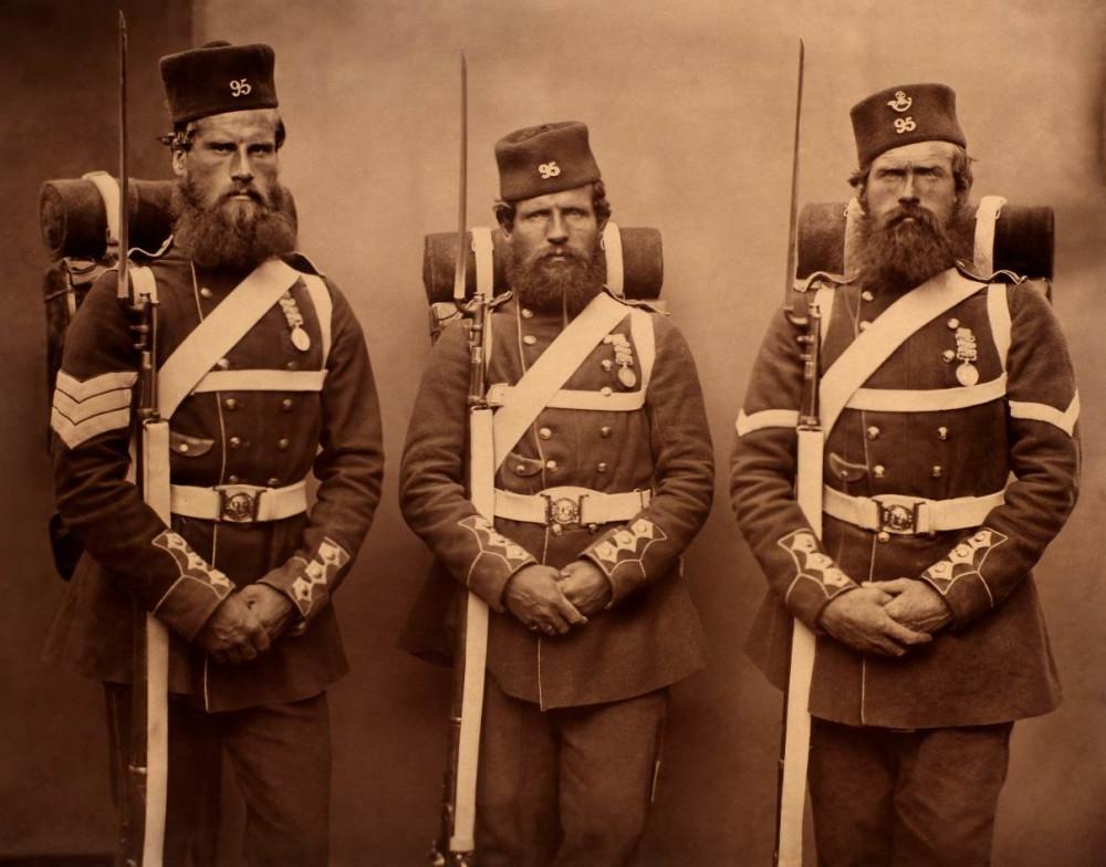 Усы, бакенбарды, бороды и историческая ретроспектива правил их ношения в армии. Часть 2
