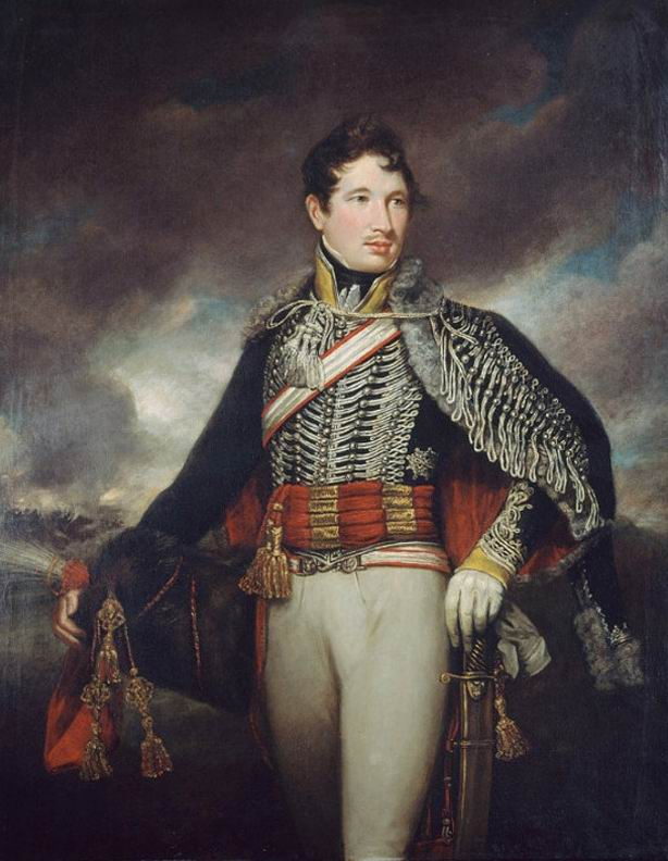 Лейтенант 10го гусарского полка, 1811г.