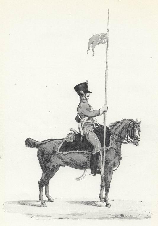 Улан, 1813г.