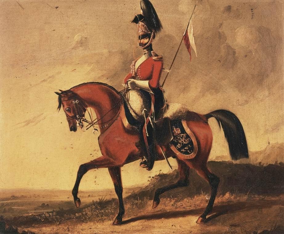 Рядовой 16го уланского полка, 1832г.