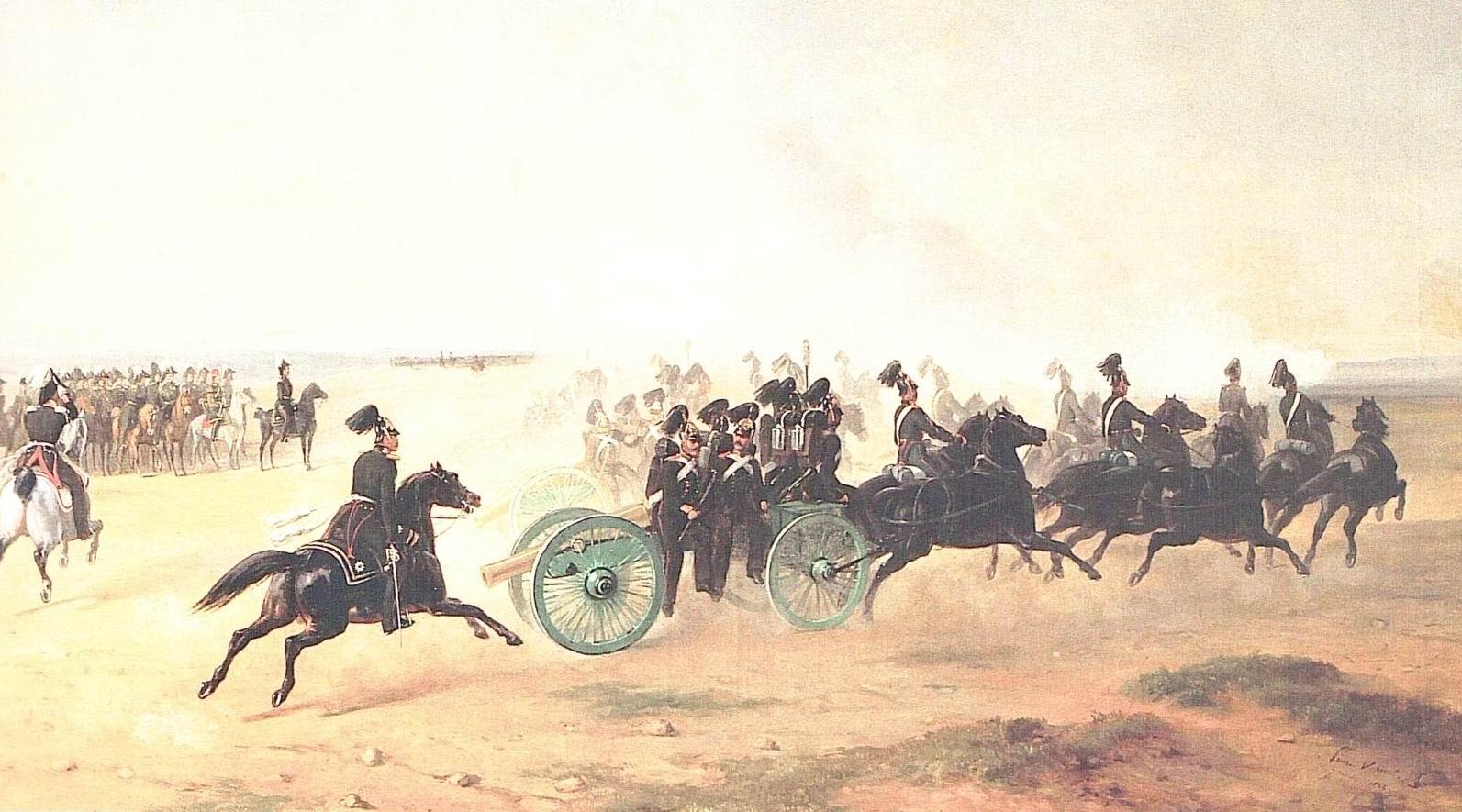 """Атака """"очень"""" тяжелой кавалерии – как это было в Российской империи?"""