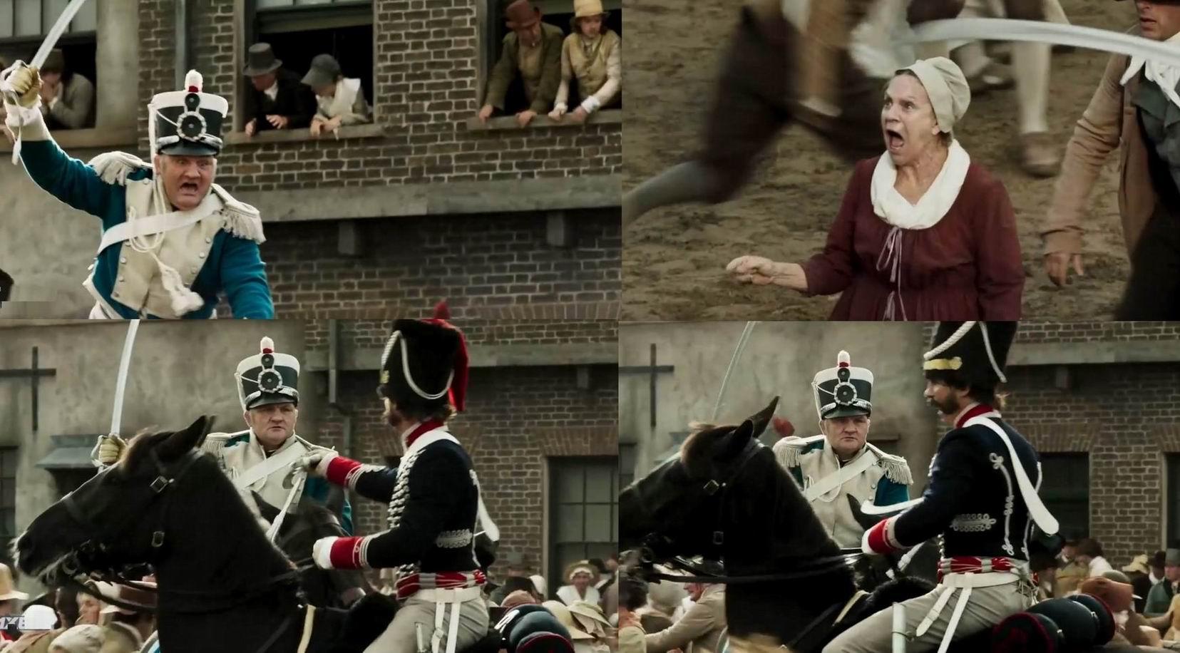"""Кадры из фильма """"Питерлоо"""" (2018). """"Вы, сэр, просто трус. Позор! Позор!"""""""