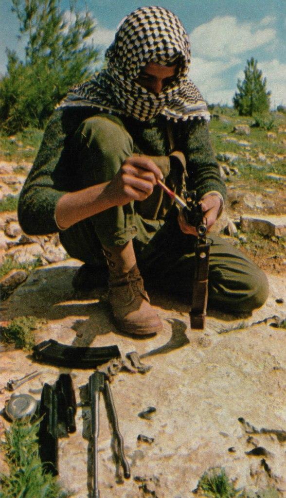 Федаин НФОП. Иордания, 1969 год.