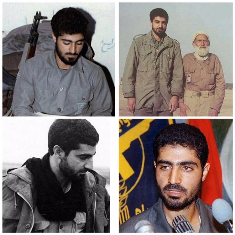 Молодой Касем Сулеймани в годы священной обороны ( ирано-иракской) (фото предоставлено пабликом в ВК Iranian military Portal)