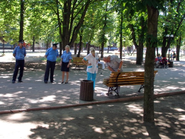 сквер на площади ВОВ