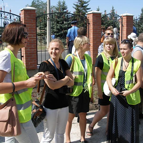 журналисты Свято-Троицкий храм