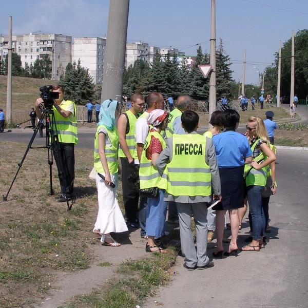 инструктаж журналистов