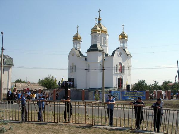 Свято-Троицкий храм Луганск
