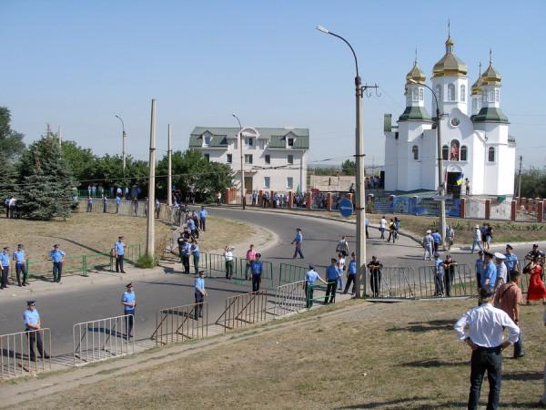 Луганск Свято-Троицкий храм