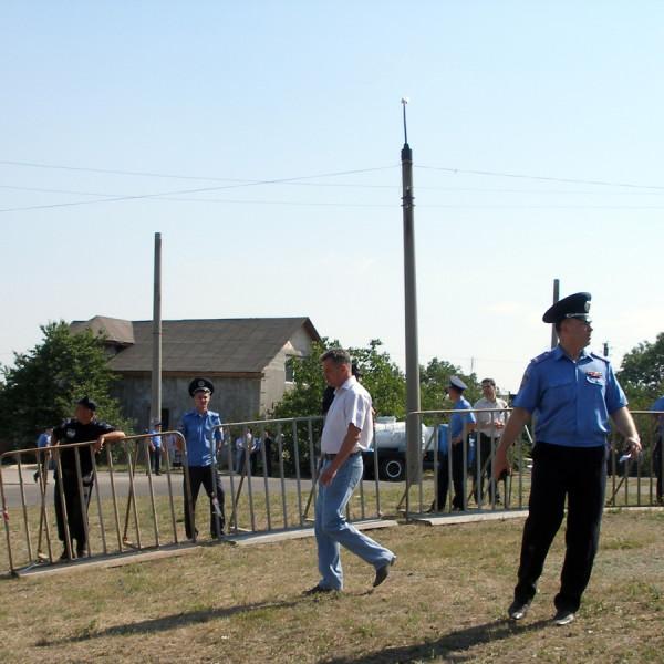 командующий милиционер