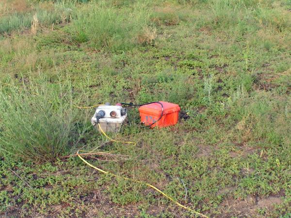 аккумуляторы на территории Трехизбенского заповедника