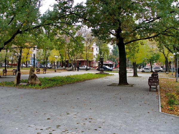 сквер ВЛКСМ