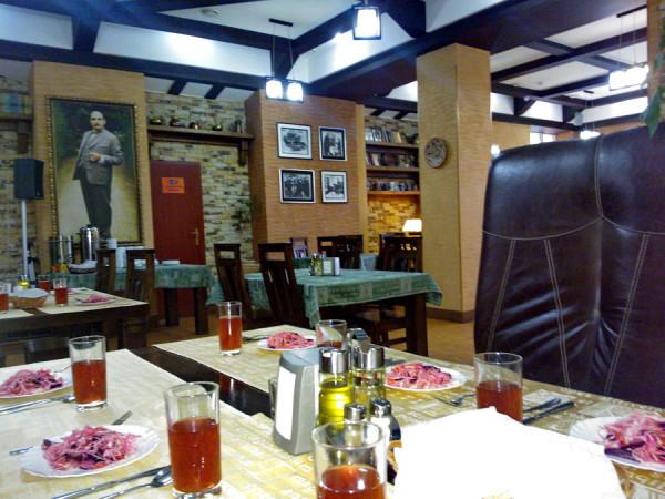 Гостиница Гала ресторан