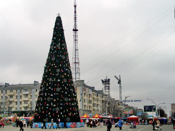 ёлка Луганск