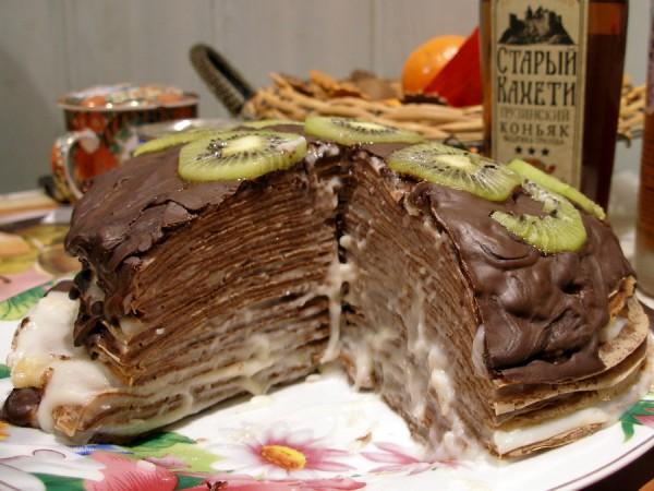 блинный шоколадный