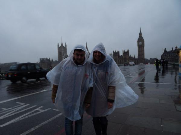 в Англии дождь