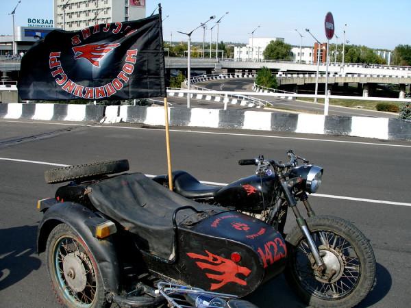 закрытие байк-сезона в Луганске