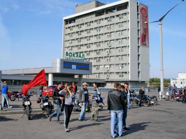 Луганск принимает байкеров
