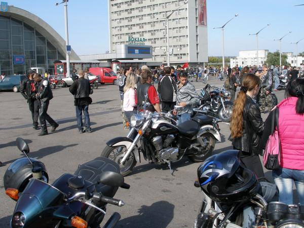 Луганск байкеры