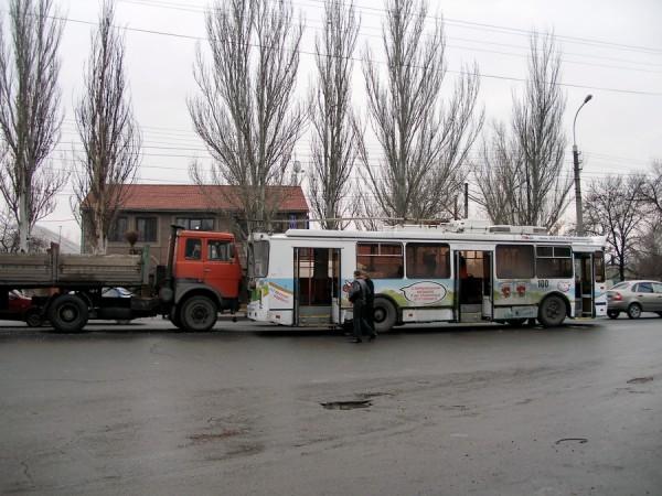 Луганск авария