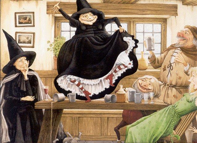 Ведьмы Пратчетта