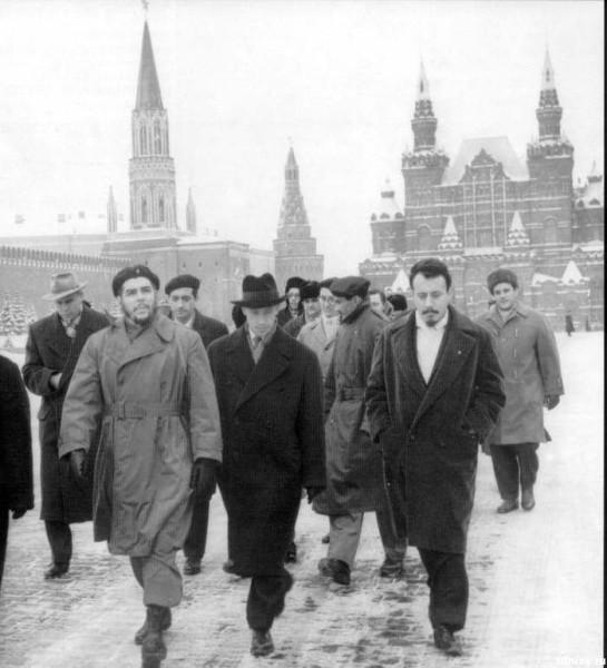 Эрнесто Че Гевара в Москве 1964г