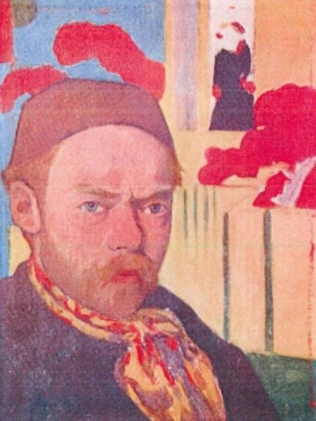 Автопортрет (ок.1890) Мейер де Хаан
