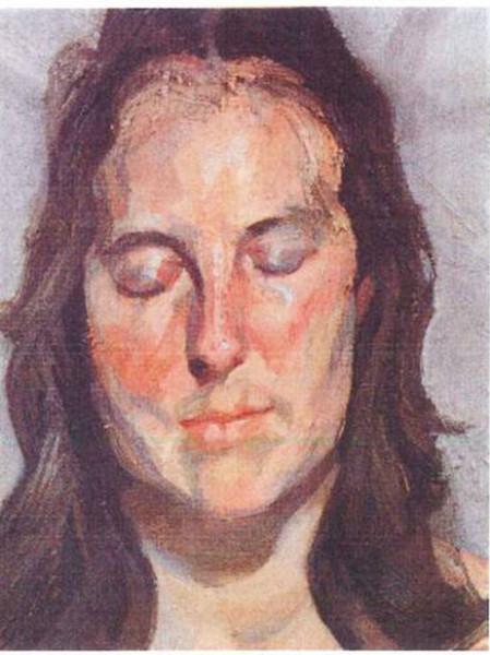 Женщина с закрытыми глазами (2002) Люсьен Фрейд