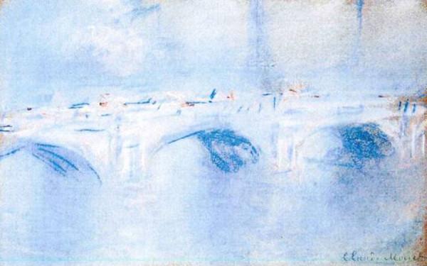 Мост Ватерлоо, Лондон (1901) Клод Моне