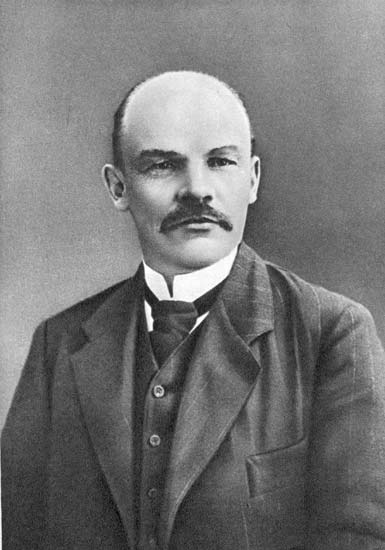 В.И. Ленин фото 1910 г
