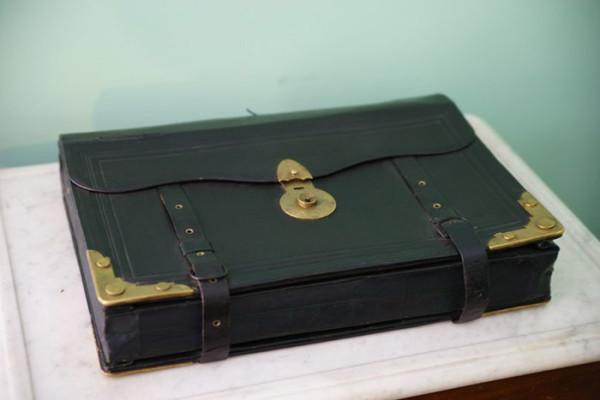 25 портфель, с которым Лев Толстой ходил во время переписи населения в 1882 г