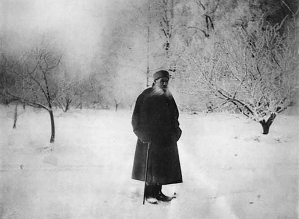29 Л.Н. Толстой. 1903 г. Ясная Поляна. Фото С.А. Толстой
