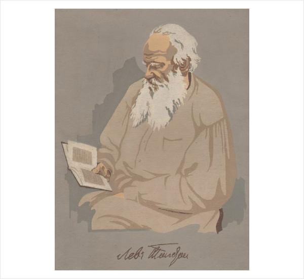 34 портрет Л Н Толстого рис