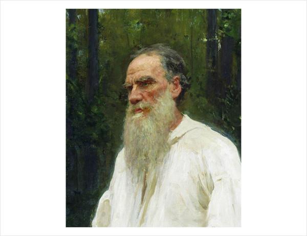 38 И.Е. Репин. Толстой босой (фрагмент). 1901 г