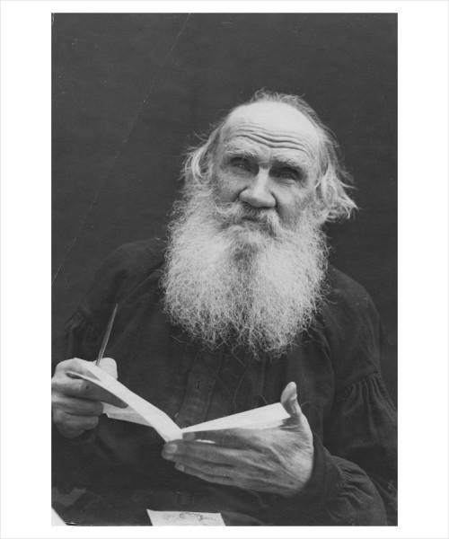 45 Л.Н. Толстой. 1910 г. Фото В.Г. Черткова